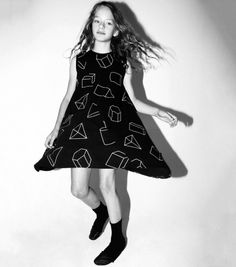 geometric 360 tank dress - NUNUNU WORLD