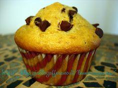 Muffin banana e cioccolato, Ricetta dolce di riciclo