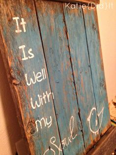 Reclaimed Wood Signs! #Wood #Pallet #Signs