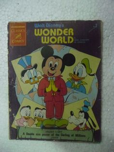 WALT DISNEY WONDER WORLD MICKEY DONALD CHANDAMAMA CLASSICS ENGLISH India | eBay