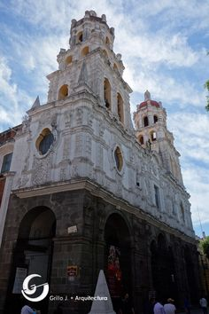 Templo Del Espíritu Santo La Compañia. Puebla, México