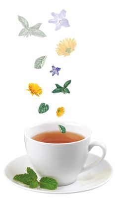 Definitely your cup of tea! Natural Herbs, Tea Cups, Tableware, Dinnerware, Tablewares, Dishes, Place Settings, Cup Of Tea