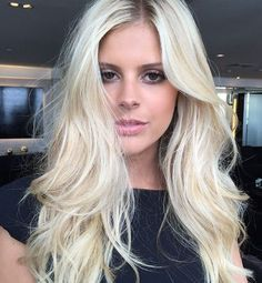 Ombre Hair, Blonde Hair, Ash Blonde, Blonde With Dark Roots, Long Layered Hair, Stylish Hair, How To Make Hair, Girl Hairstyles, Hair Inspiration
