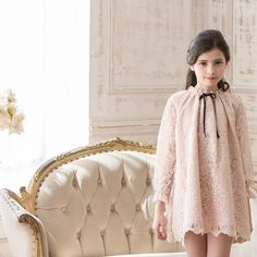 ARCHDUCHESS' Bonne Chance Spring Summer 2017 Collection ?'Rousseau Lace' dress...