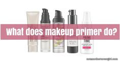 You're wondering, what does makeup primer do? It's actually pretty simple. Let me explain http://www.notanothercovergirl.com/what-does-makeup-primer-do/