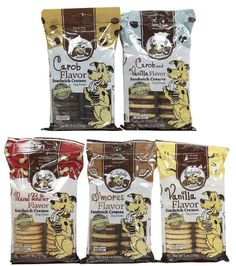 Exclusively Pet Big 5 Pooch Pack-Sandwich Cremes, 5/8-Ounce Packages *** Click image to review more details.
