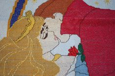 Sleeping Beauty cross-stitch