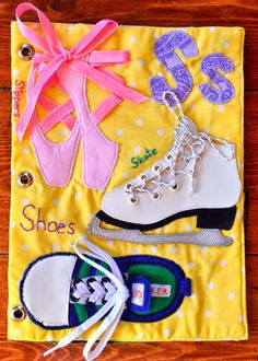 The Adventures of Six Hobbits: Alphabet Quiet Book: S is for Shoes