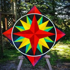 Or, you could use it as a craft room for creating all of those wonderful things that are fun Barn Quilt Designs, Barn Quilt Patterns, Quilting Designs, Patchwork Designs, Star Quilts, Quilt Blocks, Barn Signs, Wood Signs, Pallet Barn
