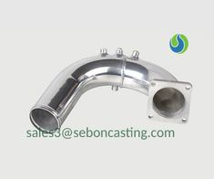 Auto exhaust pipe ss precision casting price Precision Casting, Investment Casting, Water Glass, High Speed, It Cast
