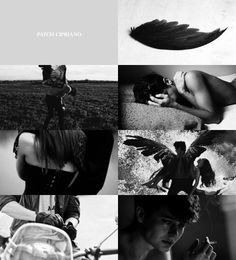 Patch Cipriano  || Hush, hush by Becca Fitzpatrick