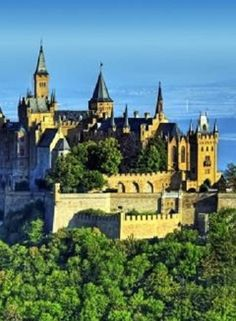 Hohenzollern Castle, Stuttgart, Germany My Dad was stationed in Stuttgart in the 1960's. I'd like to see their castle.
