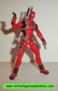 Hasbro MARVEL UNIVERSE 3.75 inch action figures DEADPOOL (greatest battles) 100% COMPLETE condition: Excellent -display only / collector quality figure size:
