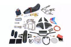 Got a BMW K100 but fancy that modern scrambler vibe? Unit Garage has a kit for you.