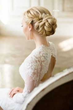 Beautiful Wedding Updo Hairstyle Ideas 18