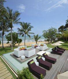 At, Club Med Cherating Beach, you will be in the pool and steps away from the beach.