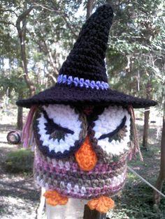 crochet pink camo owl,owl toilet paper cover,crochet witch owl,crochet toilet paper cover,seasona