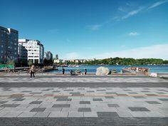 *스톡홀름, 워터 광장 [ Sweco architects ] Sjövikstorget :: 5osA: [오사]