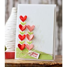 Simon Says Cling Rubber Stamp DRAWN HEART BACKGROUND SSS101374 at Simon Says STAMP!