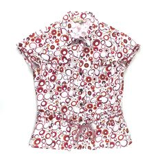 Nonaki clothing, short sleeved blouse, summer shirt for girls