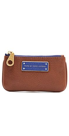 Marc by Marc Jacobs Too Hot To Handle Colorblock Key Pouch - OMG  I want this with the blue and orange, its soo amazing!