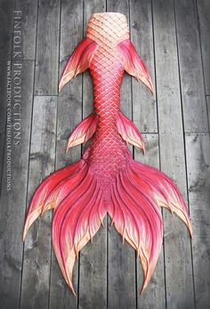 Full Silicone Mermaid Tail by Finfolk Productions.                                                                                                                                                     More
