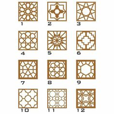 Customizable Decorative Wall Panel (Laser Cut Geometric Wall Art) x Pick your own Pattern and Color. Ready to Hang. Gate Design, Door Design, Geometric Wall Art, Geometric Patterns, Motifs Islamiques, Cnc Cutting Design, Islamic Art Pattern, Decorative Wall Panels, Ceiling Design