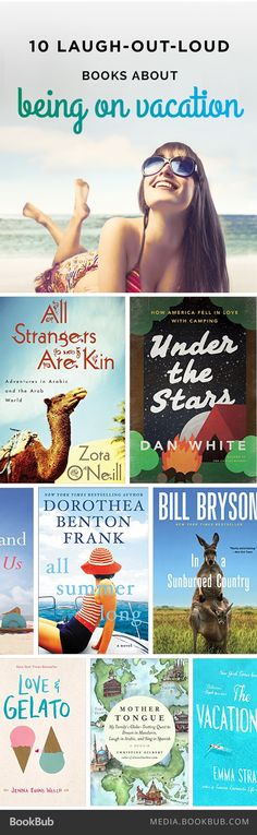 10 of the Funniest Books About Being on Vacation