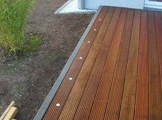 LED - Beleuchtung am Terrassenrand- Terrasse selbst bauen.