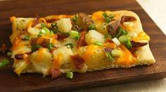 Baked Potato Pizza | Community Post: 21 Cheap Dinner Recipes