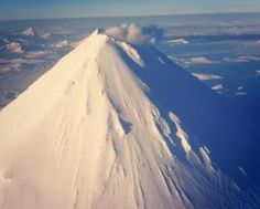 Shishaldin volcano image from the Alaskan Volcano Observatory homepage http://avo.alaska.edu
