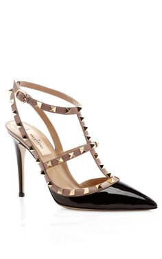BY VALENTINO  SEE DETAILS HERE: Patent Slingback