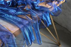 Color Illusions, Holographic Fabric, Posing Suits, Laser, Fashion Fabric, Dance Outfits, Blue Fashion, Fabric Swatches, Blue Fabric