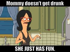 Linda is my fave Bob's Burger Bobs Burgers Quotes, Bobs Burgers Funny, Tina Belcher, Bob S, Tv Show Quotes, Getting Drunk, Animation, My Spirit Animal, Birthday Quotes