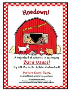 Hoedown! is a thematic unit for the book, Barn Dance, by Bill Martin, Jr. and John Archambault. Get your square dance on! $