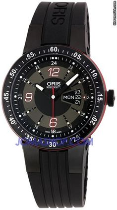 Oris Williams F1 Team Day Date Mens Automatic Watch 735-7634-4764RS