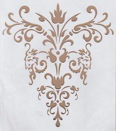 Wandschablonen Schablone Wandtattoo Ornament XL