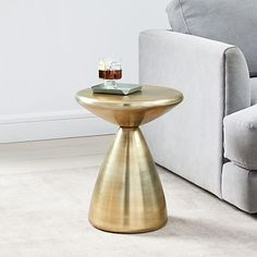 Available in a premium quality, West elm provides the exceptional Cosmo Side Table. Buy now Cosmo Side Table at the best price with available delivery to Jeddah, Riyadh, and all areas around KSA Rustic Side Table, Brass Side Table, White Side Tables, West Elm Side Table, Mirror Wall Art, Frame Wall Decor, Frames On Wall, Pedestal Coffee Table, Coffee Tables