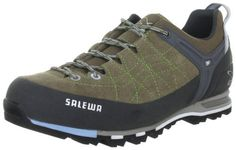 Salewa Women's Mountain Trainer Hiking Shoe Salewa. $139.00. Vibram sole. Perfect everyday companion on and off the mountain. Mesh lining. Extended climbing lacing. 1.6 - 1.8 suede with 360 degree sticky rubber rand