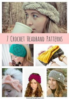 Looking for a quick crochet project with big impact? Make some of these stunning headbands right...