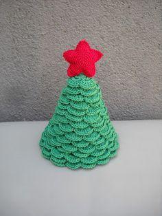 Author Paula Mengual fabrics: Christmas Tree Tutorial (Crochet)