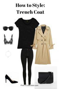 How To Style: Trench Coat - Pret-a-Collection