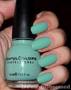 Ahoy! Sinful Color nail polish