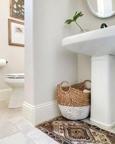 DIY slipcovered sleigh bed - Crazy Wonderful Ikea Pax Wardrobe, Ikea Closet, Best Bathroom Designs, Modern Bathroom Design, Room Rugs, Rugs In Living Room, Ikea Pax Hack, Big Rugs, Solid Wood Furniture