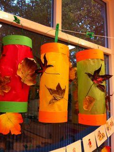 Lampion herfstbladeren Thema Herfst