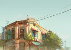 rainbow shop by FeiGiap on DeviantArt