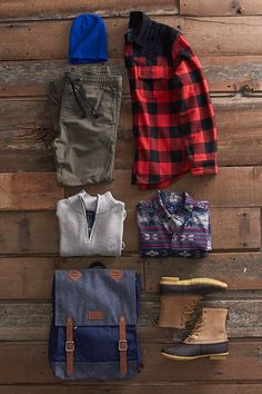 Iconic flannels. Genuine leather boots. Rustic knit sweaters. Just a few of our favorite gifts for the adventurer on your list. Visit AE.com for our ultimate gift guide.
