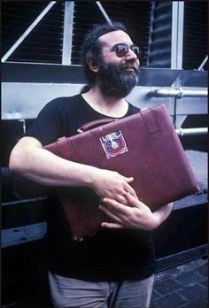 Jerry with his briefcase..