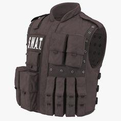 3D Swat Vest - 3D Model