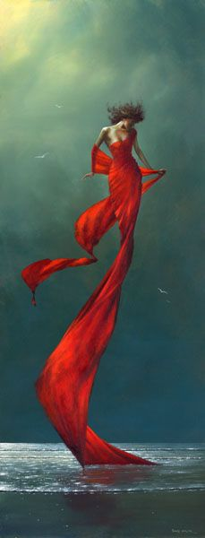 Crimson breeze by Jimmy Lawlor - PRINT - The Keeling Gallery